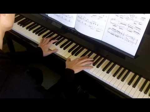 John Thompson's Grade 4 No.31 Schutt Canzonetta in D Op.28 No.2 (P.77) 小坎佐那