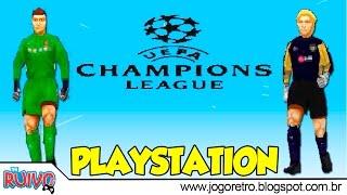 UEFA Champions League Temporada 2016 / 2017 (WE2002 Patch) no Playstation 1