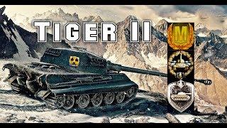 Tiger II #2 wot blitz Feat EC665TIGER Aced gameplay 4600 DMG 2vs5