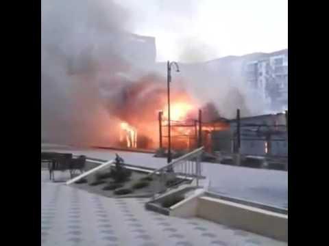 Пожар на Энгельса