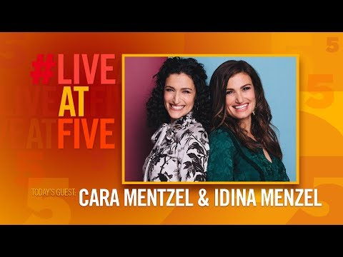 Broadway.com #LiveatFive with Cara Mentzel and Idina Menzel