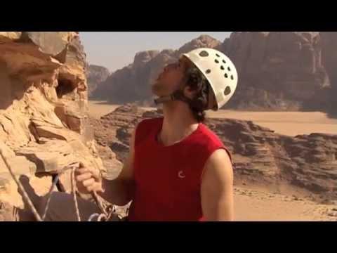 Rock Climbing in Wadi Rum - Jordan