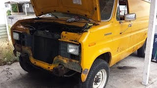 Ford Econo-Cummins Van | 4BT Swap Update | It's Harder Than We Thought