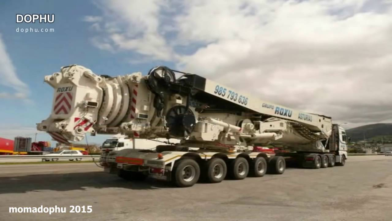Largest boom crane in the world : Biggest mobile crane in the world