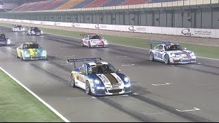 Porsche: Porsche GT3 Cup Challenge Middle East - Season 6 Round 4: Race 1 at the Losail International Circuit