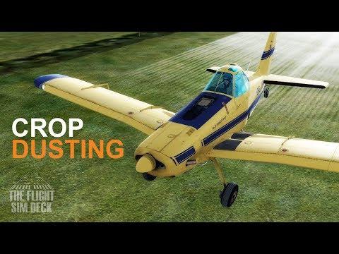 Prepar3D v4 | Let's Go Crop Dusting! | Alabeo PA36 Pawnee Brave 375