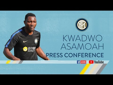 KWADWO ASAMOAH | PRESS CONFERENCE | Inter 2018/19 🎙️⚫️🔵