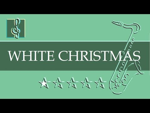 Alto Sax & Guitar Duet - White Christmas - Christmas song (Sheet Music - Guitar Chords)