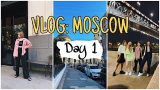 VLOG поездка в Москву с подругами ДЕНЬ 1