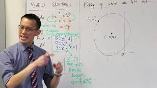 Equation of a Translated Circle