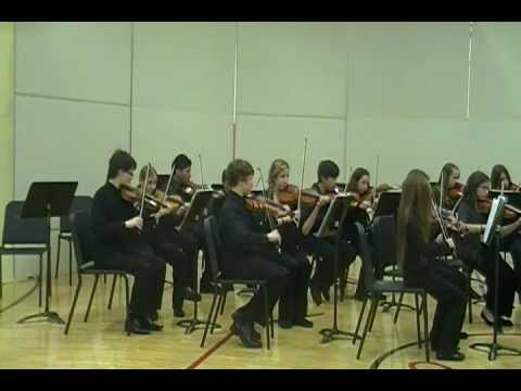 Dundee Middle School Orchestra 2011 11 16 03