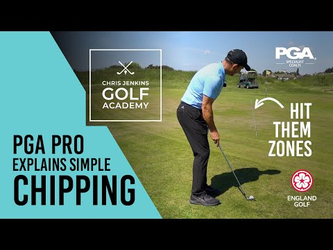 EASY Chipping Drills - ENGLANDS GOLF PRO COACH Explains