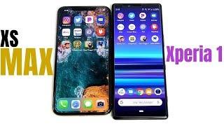 iPhone XS Max vs Xperia 1 Speed Test!