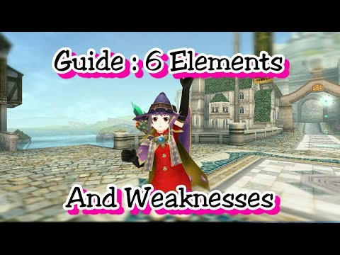 Toram Online - Guide : 6 Elements and Weaknesses (New player)