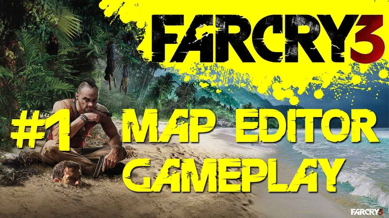 Far Cry 3 Map Editor Gameplay Part 1 Ai Weather Terrain