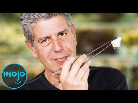 Top 5 Anthony Bourdain Moments