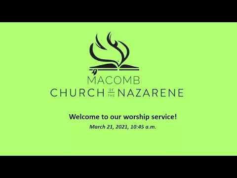 Sunday Morning Worship - March 21, 2021