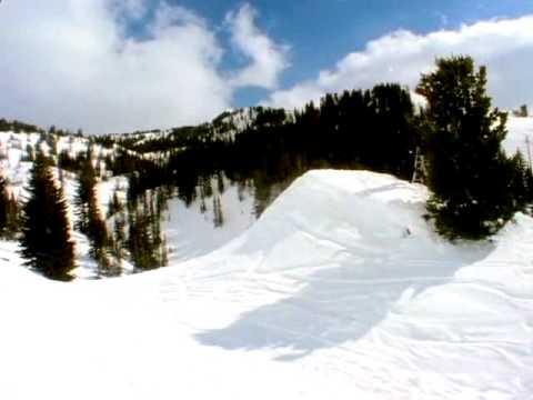 Bjorn Leines - Chad's Gap Snowboard Jump