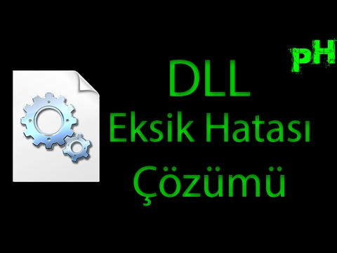 Eksik DLL Hatasının Çözümü %100