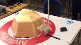 Макет автономного робокомплекса для освоения Арктики
