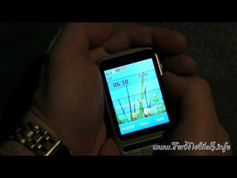 Nokia C3-01 Touch and Type - Demo Antennagate