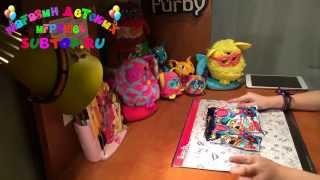 обзор мини Ферблинга, Mini Furblings с QR кодами от Анны на subtoy.ru