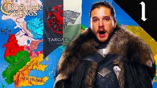 HAIL KING JON (AEGON) TARGARYEN! Crusader Kings 2: Game of Thrones: Jon Snow (Aegon Targaryen) #1