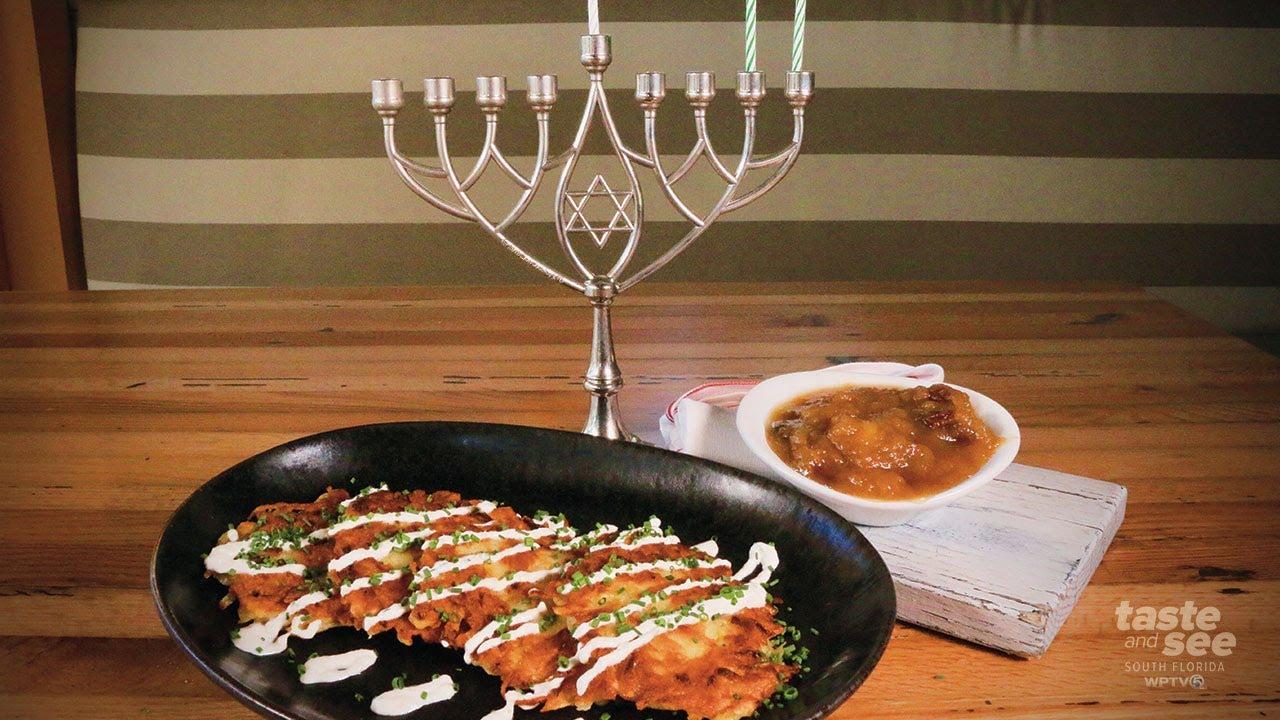 How to make crispy, golden brown, Hanukkah Latkes