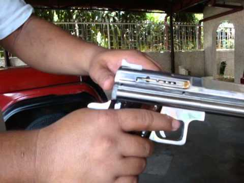 Airgun Pistols made in City of San Fernando, Pampanga, Philippines.