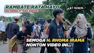 Download H. RHOMA IRAMA HARUS NONTON INI | RAMBATE RATA HAYO - NIA DIRGHA FT. RIAN MODJOE | IRAMA DOPANG