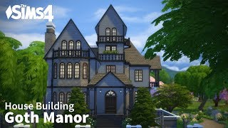 The Sims 4 House Building - Goth Manor
