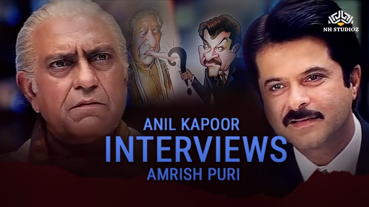 1st Interview Of Anil Kapoor Superhit Scene Nayak Movie