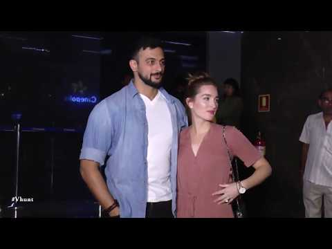 Arunoday Singh At Blackmail Movie Screening   Bollywood Celebrities Interview 2018
