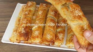 Baklavalık Hazır Yufkadan Peynirli Börek Tarifi