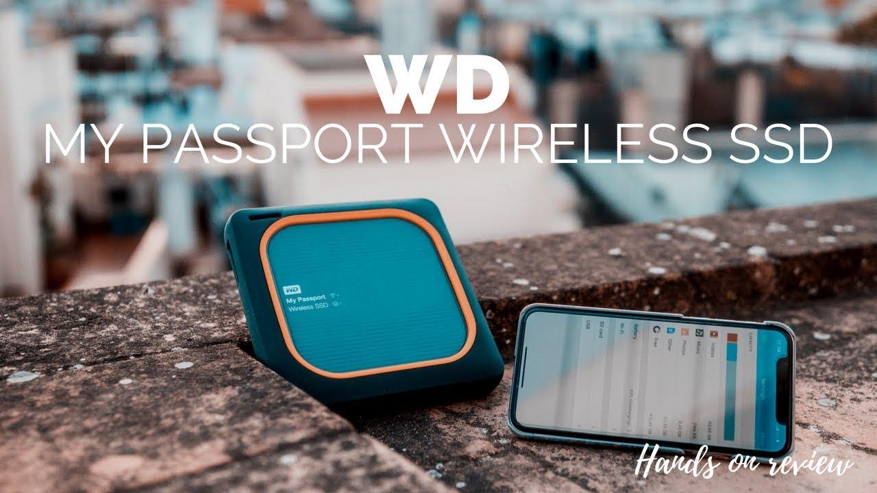 My Passport Wireless Test