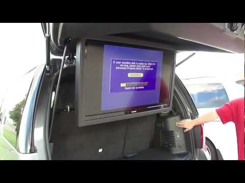 Ford Expedition 40 inch flip down TV, motorized lcd screen, SPADE KREATIONS