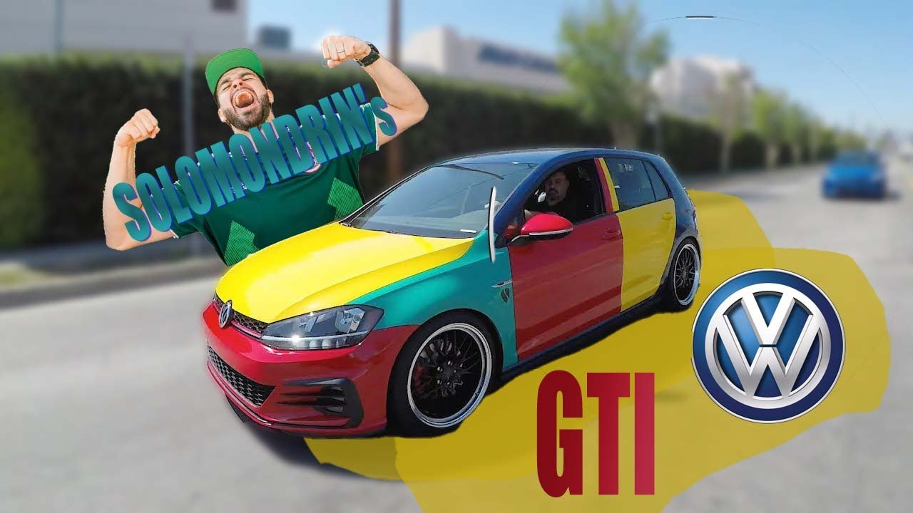 delivering the new golf gti harlequin to salomondrin youtube. Black Bedroom Furniture Sets. Home Design Ideas