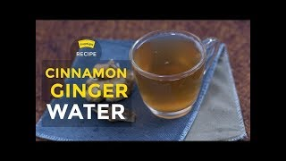 Healthy Weight Loss Drink - Cinnamon Ginger Water | Truweight Weight Loss Tips