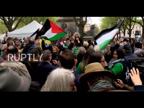 France: Pro-Palestinian protesters face-off with counter-demo in Paris