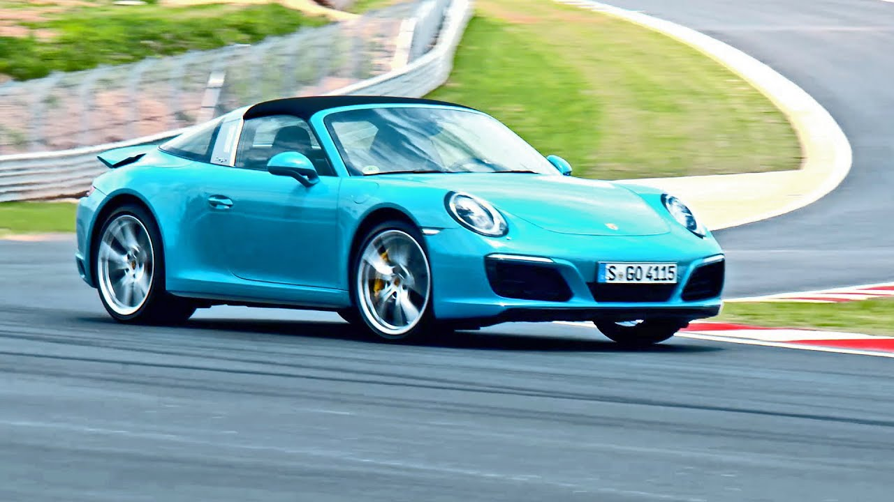 2016 porsche 911 targa 4s miami blue youtube