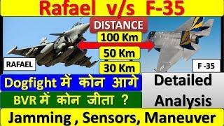 Rafale vs F-35 | राफेल और F-35 में कोन  जीतेगा  | Detailed Comparison  | amit updates