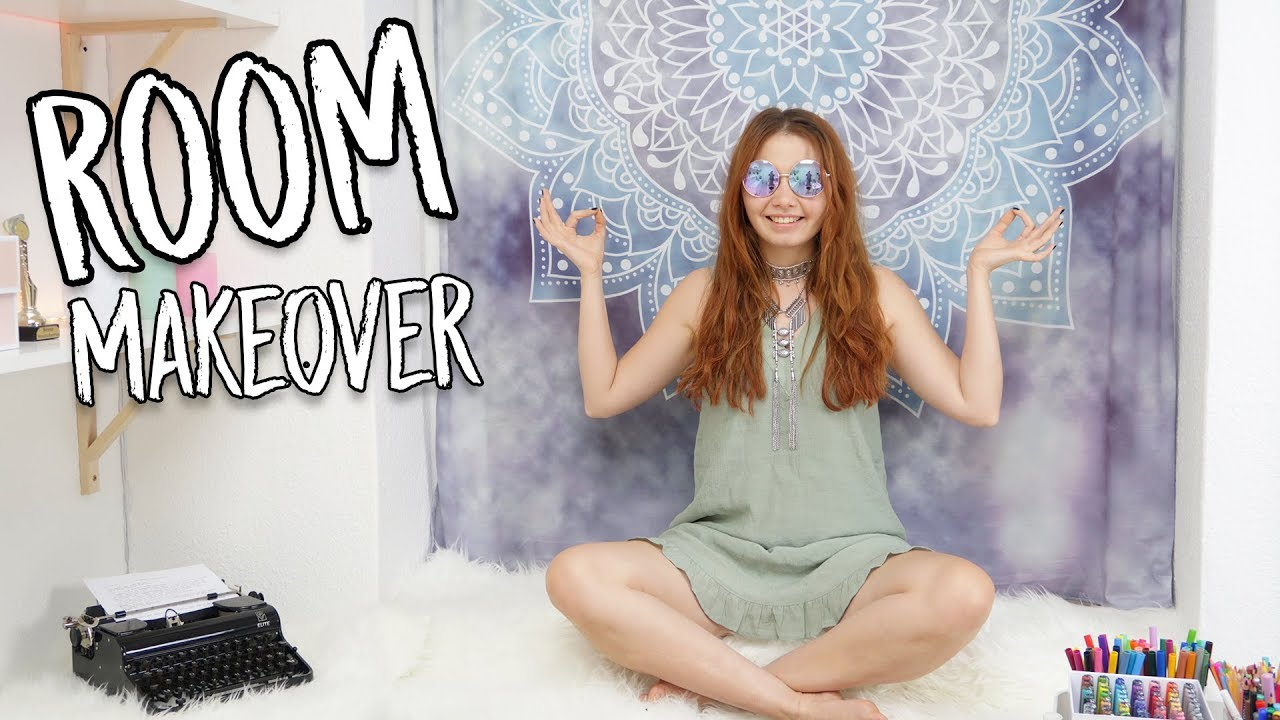 [VIDEO] - ROOM MAKEOVER - Update | Mein tumblr Zimmer! || Foxy Draws 9