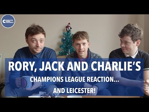 CHAMPIONS LEAGUE REACTION...AND LEICESTER!