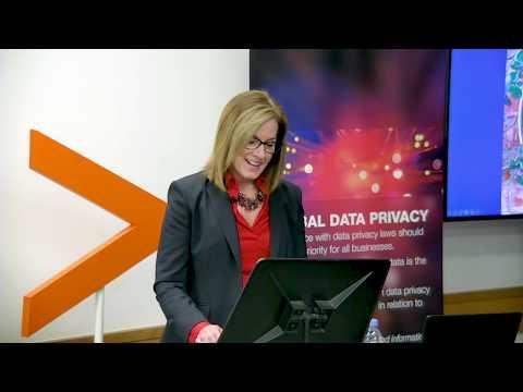 The GDPR and Beyond: Elizabeth Denham, UK Information Commissioner