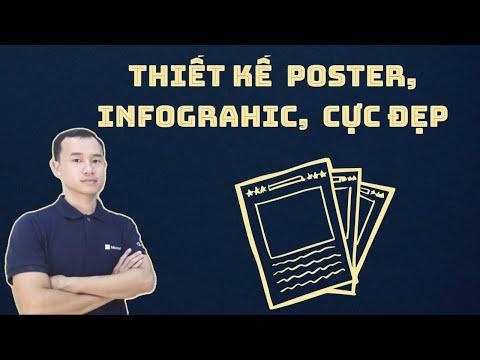 Thiết kế đồ họa poster, infograhic, giấy khen cực đẹp với phần mềm Designcap