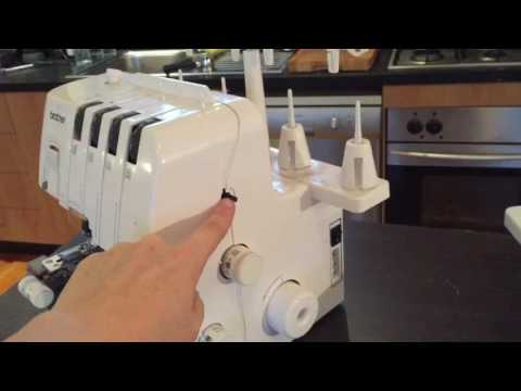 How to repair Brother 3034D overlocker serger, foot lever