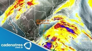 Se forma Boris, segunda tormenta tropical de la presente temporada, frente a las costas de Chiapas