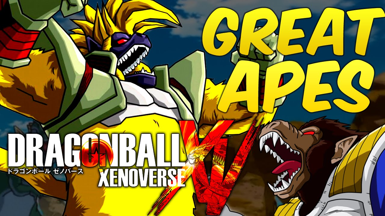 Dragon Ball Xenoverse Great Apes Playable In Xenoverse Great Ape