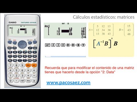 Ecuaciones Lineales tipo AX=B from YouTube · Duration:  6 minutes 34 seconds