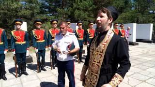 В Барнауле освятили памятник погибшим от ран в госпиталях в годы Великой Отечественной войны